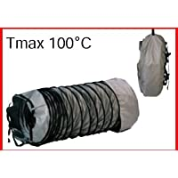 MTM Heat 48.7118 12 in. x 20 ft. Flexible Air Duct for Blaze Heater