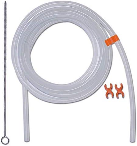 Leche Manguera Kit de repuestos con cepillo de limpieza y clips para cafeteras automáticas compatible con Jura, Siemens, Bosch, Saeco, Melitta: Amazon.es: Hogar