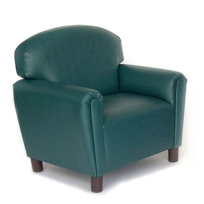 """Price comparison product image Brand New World Furniture FPVT200 Brand New World Preschool Premium Vinyl Upholstery Chair - Teal,  27.99"""" Height,  23.99"""" width,  19.99"""" Length"""