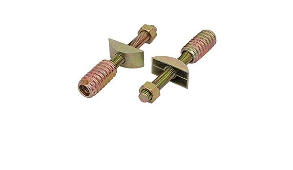 M8 M10 Inserto roscado Surtido de Tuercas de inserci/ón de Madera LAQI Tuerca de accionamiento Hexagonal de Muebles de aleaci/ón de Zinc de 20 Piezas M6 M6 * 25 mm