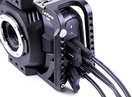 Lanparte BMPCC-4K Blackmagic - Cámara de Cine de Bolsillo con ...