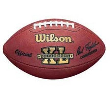 Wilson Super Bowl XL Official Game Football Pittsburgh Steelers vs. Seattle Seahawks