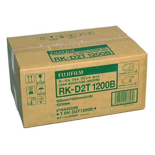 - Fujifilm RK-D2T1200 4x6