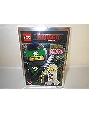 Blue Ocean Lego Ninjago Ninja-figuur LLOYD met twee gezichten en Ninja-zwaard - Limited Edition - 471701 - Polybag -