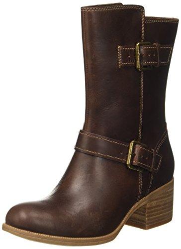 Oasis Maypearl Clarks Biker Damen Boots 7FYw8