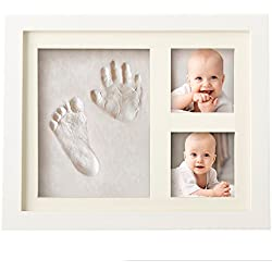 Baby Handprint Kit & Footprint Photo Frame