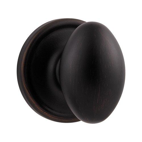 Kwikset Laurel Hall/Closet Knob in Venetian Bronze - Laurel Egg Knob