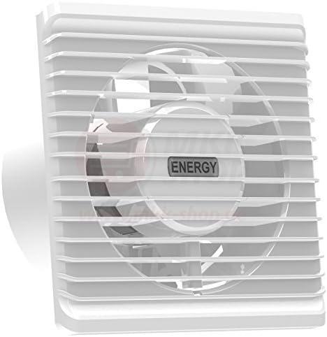 La energía baja cocina baño silenciosa campana extractora 100 mm con extracción ventilación sensor de humedad: Amazon.es: Bricolaje y herramientas