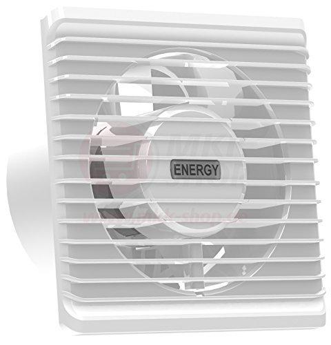 230 VAC La energía baja cocina baño silenciosa campana extractora 100mm extracción ventilación estándar