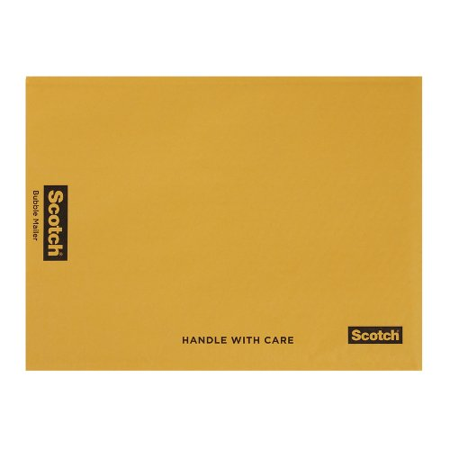 Scotch Bubble Mailer, 12.5 x 18.5-Inches, Size #6, 25-Pack