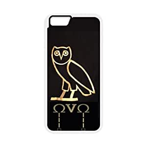 Drake Ovo Owl iPhone 6 Plus 5.5 Inch Cell Phone Case White Protect your phone BVS_604974