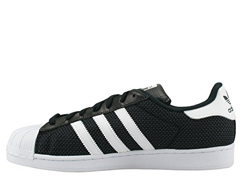 running Schuhe Adidas white running 42 Superstar 3 black 2 white core wIwaPq