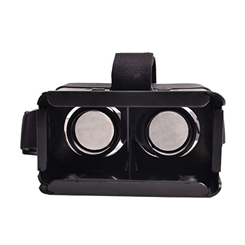 BQ-tech Virtual Reality 3D Video Glasses Google Cardboard Head Mount Plastic Version Simple VR Universal 3D Video Glasses