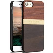 iPhone 7 Wood Case,Unique Wooden Pattern Drop Protection Ultra Thin Protective Case Shockproof Drop proof Bumper for Apple iPhone7