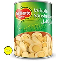 Del Monte Canned Whole Mushrooms 400 gms (Pack of 2)