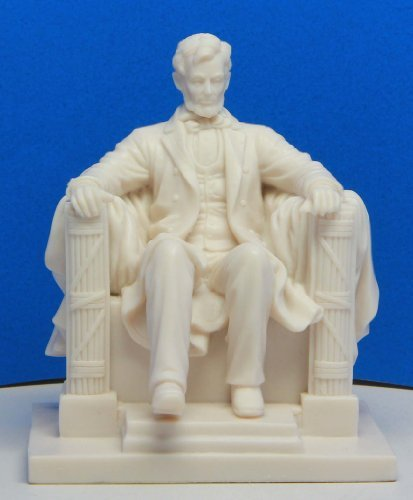 5.5 Inch Abraham Lincoln National Memorial Replica Statue Figurine