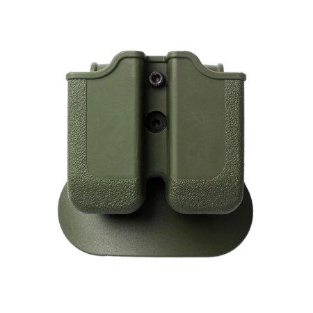 IMI Defense Z2020 Doppelmagazintasche verstellbar drehbar drehung Double Magazine Polymer Pouch für Glock 20/21/30