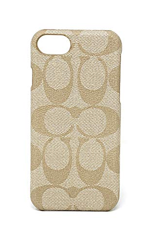 Coach Signature Coated Canvas Phone Case for iPhone 8 / iPhone 7 (Ivory) (Case Coach Iphone)
