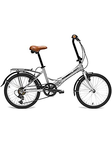 CLOOT Bicicletas Plegables Iconic Shimano 6V Gris Perla