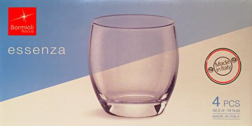 Essenza 14.25 oz. Double Old Fashioned Glass (Set of 4)