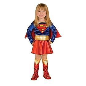 - 41n58AK4wGL - Super Hero Supergirl Toddler Costume – Toddler size 2 – 4 (1-2 years)