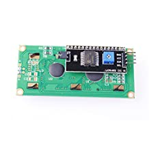 CHUANGNENG IIC/I2C/TWI/SP  I Serial Interface1602 16X2 Character LCD Module Display US STOCK