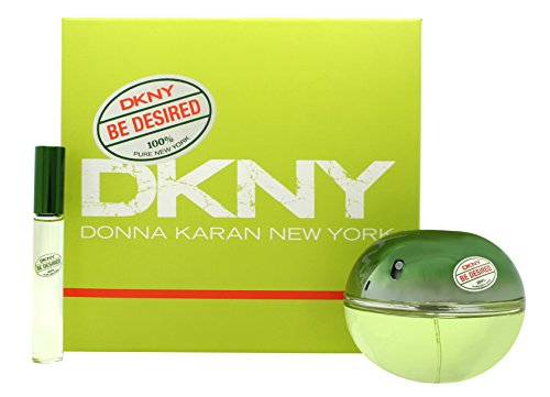Be Delicious Roll On Perfume (DKNY Be Desired Set for Women (3.4oz/100ml EDP+0.34oz/10ml Rollon))