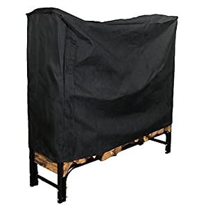 Sunnydaze 4-Foot Firewood Log Rack Cover ONLY