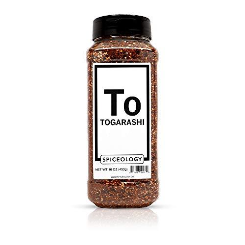 Spiceology Togarashi Shichimi Blend - Japanese Seven Spice Seasoning - 16 ounce