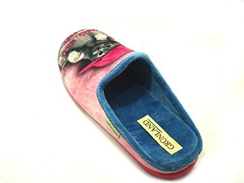 GRÜNLAND Women's Slippers fuchsia J3leh1aLVS