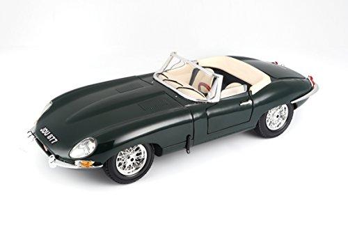 Burago 1/18 Jaguar e Cabriolet , Verde Escuro