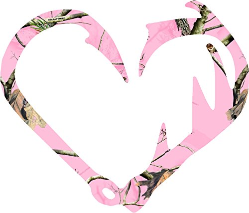 Pink-Camo-Antler-and-Fish-Hook-Camo-Sticker-Decal