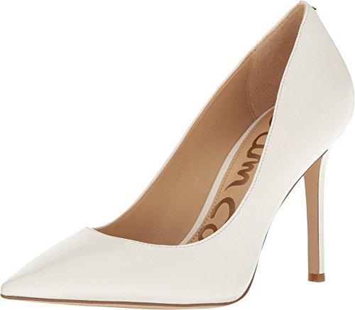 Sam Edelman Women's Hazel Bright White Dress Nappa Leather 6 W US