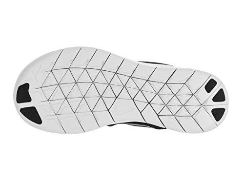 Nike Boy's Free RN (PS) Pre-School Shoe Black/Metallic Silver/Anthracite Size 12 Kids US by Nike (Image #4)