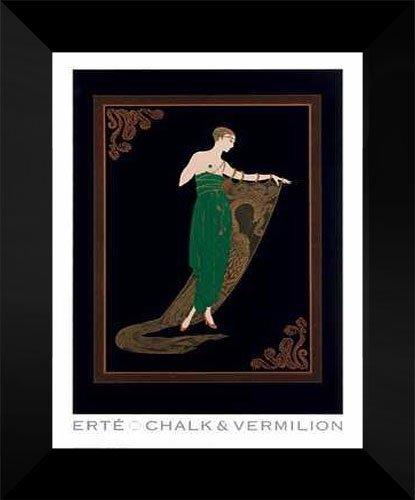 Erte FRAMED Art Print 15x18