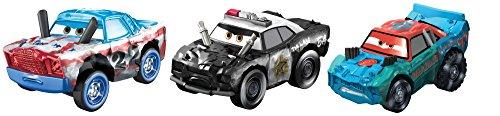 Disney Pixar Cars Mini Racers Derby Racers Series 3-Pack