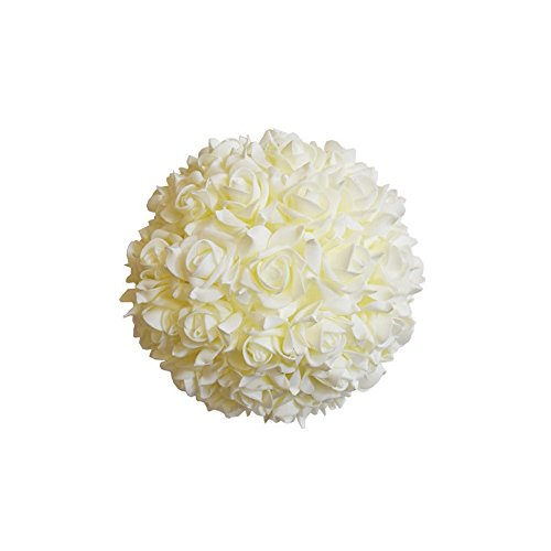 Craft and Party, Kissing flower soft foam ball for wedding centerpiece. (10