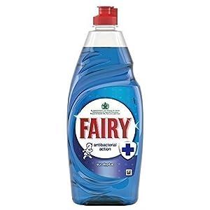 Fairy Antibacterial Washing Up Liquid Eucalyptus (625ml)