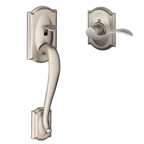 Schlage FE285 619 Acc CAM LH Lower Half Handleset, Satin Nickel ()