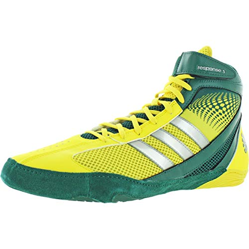adidas Wrestling Men's Response 3.1-M, Running White/Hero Ink/Metallic Gold 11.5 M US