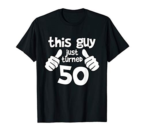 This Guy is 50 Years Old Birthday T-shirt