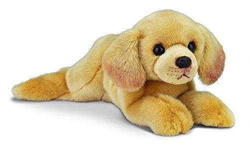 "Bearington Tanner Yellow Labrador Retriever Plush Stuffed Animal Puppy Dog 15"""