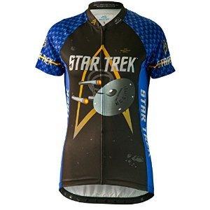Brainstorm Star Trek Women's Cycling Jersey - Science (Bl...