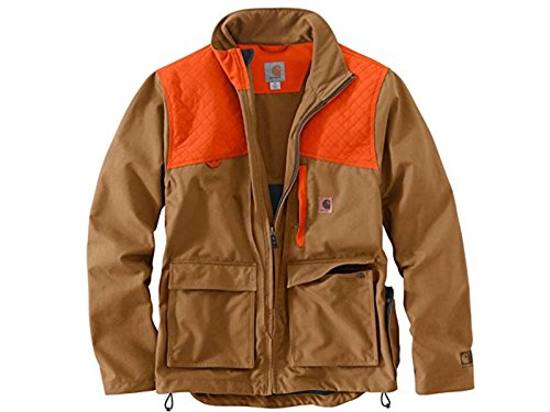 (Carhartt Men's 102231 Upland Field Jacket - Unlined - Medium Regular - Carhartt Brown)