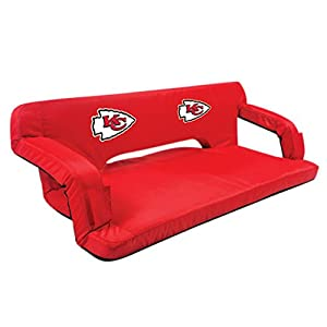 NFL Kansas City Chiefs Reflex Portable Reclining Travel Couch from Picnic Time