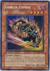 (Yu-Gi-Oh! - Goblin Zombie (PTDN-EN098) - Phantom Darkness - 1st Edition - Secret Rare)