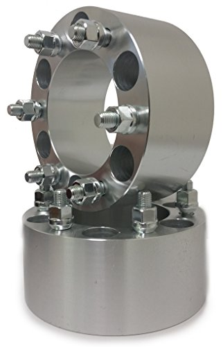 CHEVY GMC CADILLAC WHEEL SPACERS 6X5.5 | FITS MOST 6 LUG | 14X1.5 STUDS (3 Inch)