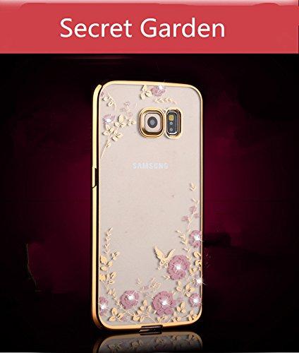 purchase cheap 0b2ba b4b35 Samsung Galaxy Note 5 Case,Inspirationc® [Secret Garden] Rose Gold ...