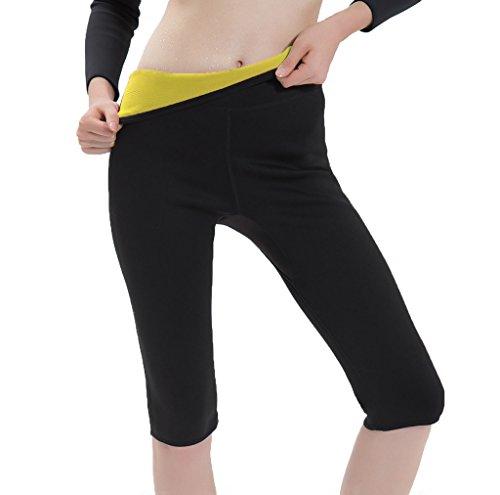 Women's Hot Sweat Slimming Pants Thigh Shapewear Body Shaper Capris Neoprene