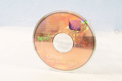 Price comparison product image Microsoft Basic Edition 2003 Genuine with Product Key Part Number X09-49597 PC Computer Program Software Installation Disc CD-Rom